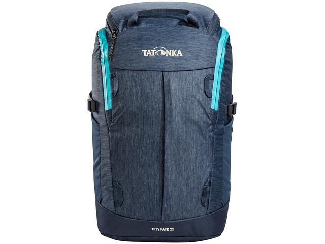 Tatonka City Pack 22 Mochila, azul